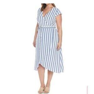 Madison wrap dress